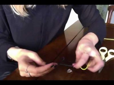 Comment changer son cordon DINH VAN (nœud coulissant)