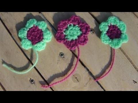 Crochet fleur