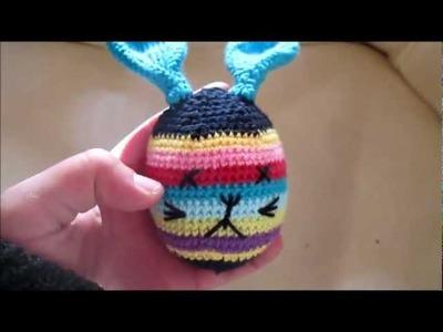 D.I.Y TUTO CROCHET AMIGURUMI DOUDOU LAPIN ; AMIGURUMI AVEC PATRON (petit animaux en crochet)