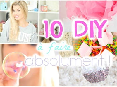 [ DIY n°6 ] : 10 DIY à faire ABSOLUMENT !
