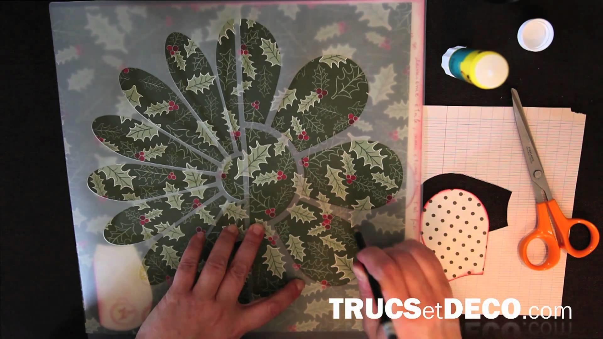 Effet patchwork en scrapbooking - Tutoriel par trucsetdeco.com