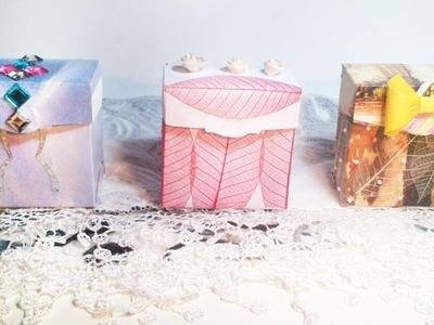HD. TUTO: Faire une boîte en papier - Make a paper box