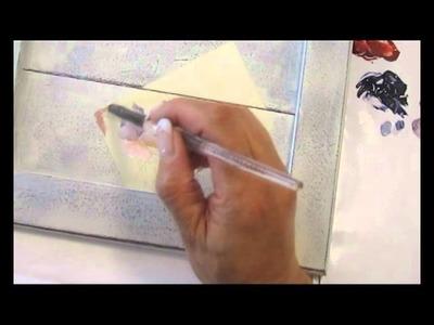 La technique du Scrap-Painting avec Tendres Pensées