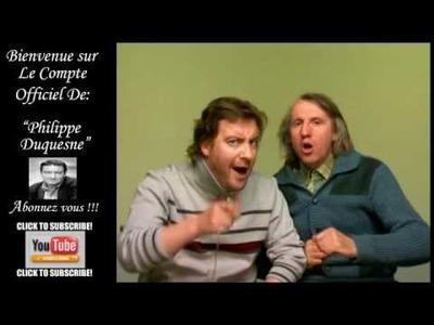 Les Deschiens and Phillipe Duquesne.Baston !Imparable.