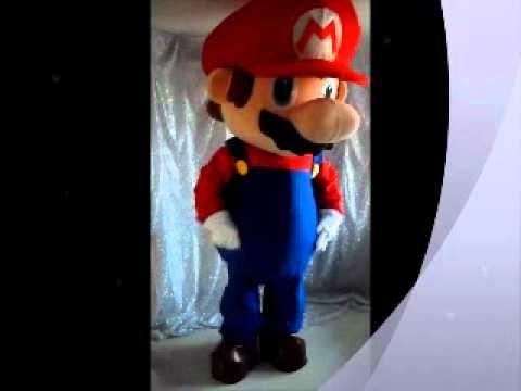 Mario Bros Mascotte Costume.wmv