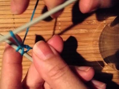 Montage élastique pour les chaussettes en tricot par Artisanat du Nord