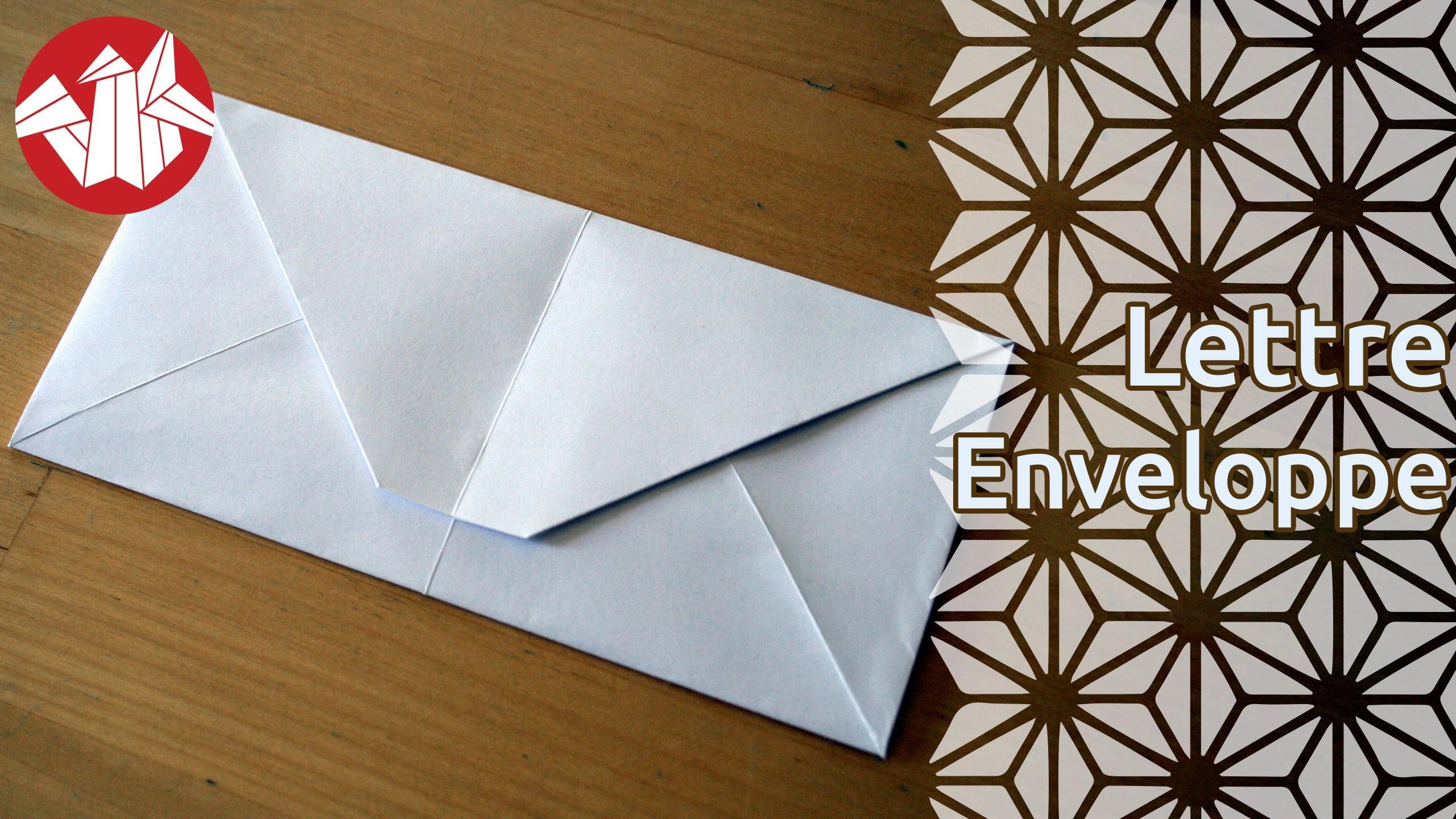 Origami - Lettre-enveloppe [Senbazuru]