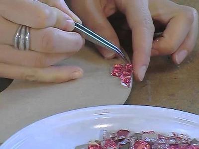Réaliser un miroir en Crackle Mosaique