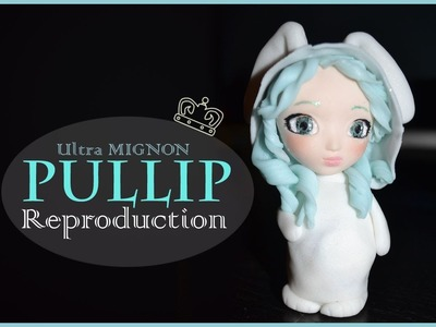 [REPRODUCTION] Pullip lapin en fimo. Pullip rabbit polymer clay