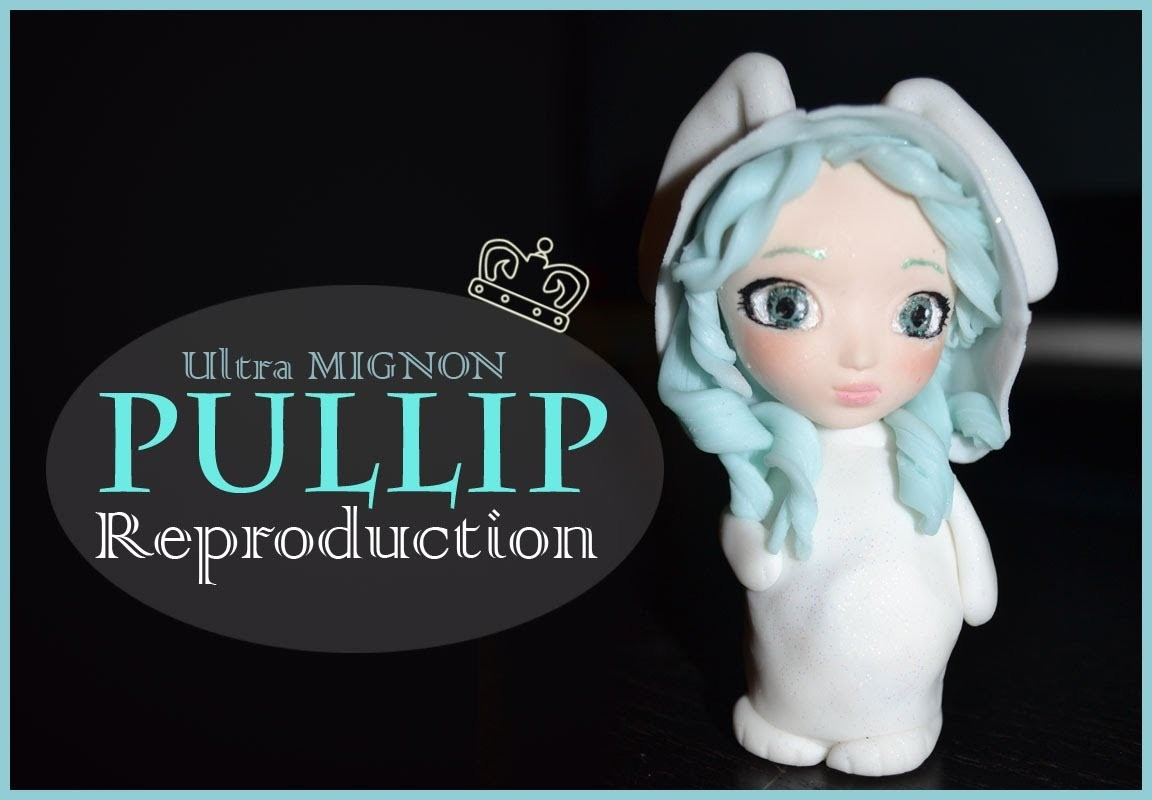 [REPRODUCTION] Pullip lapin en fimo. Pullip rabbit polymer clay