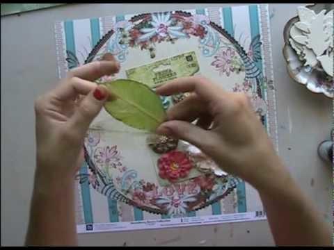 Scrapbooking - Kit, embellissements et Glimmer Mist