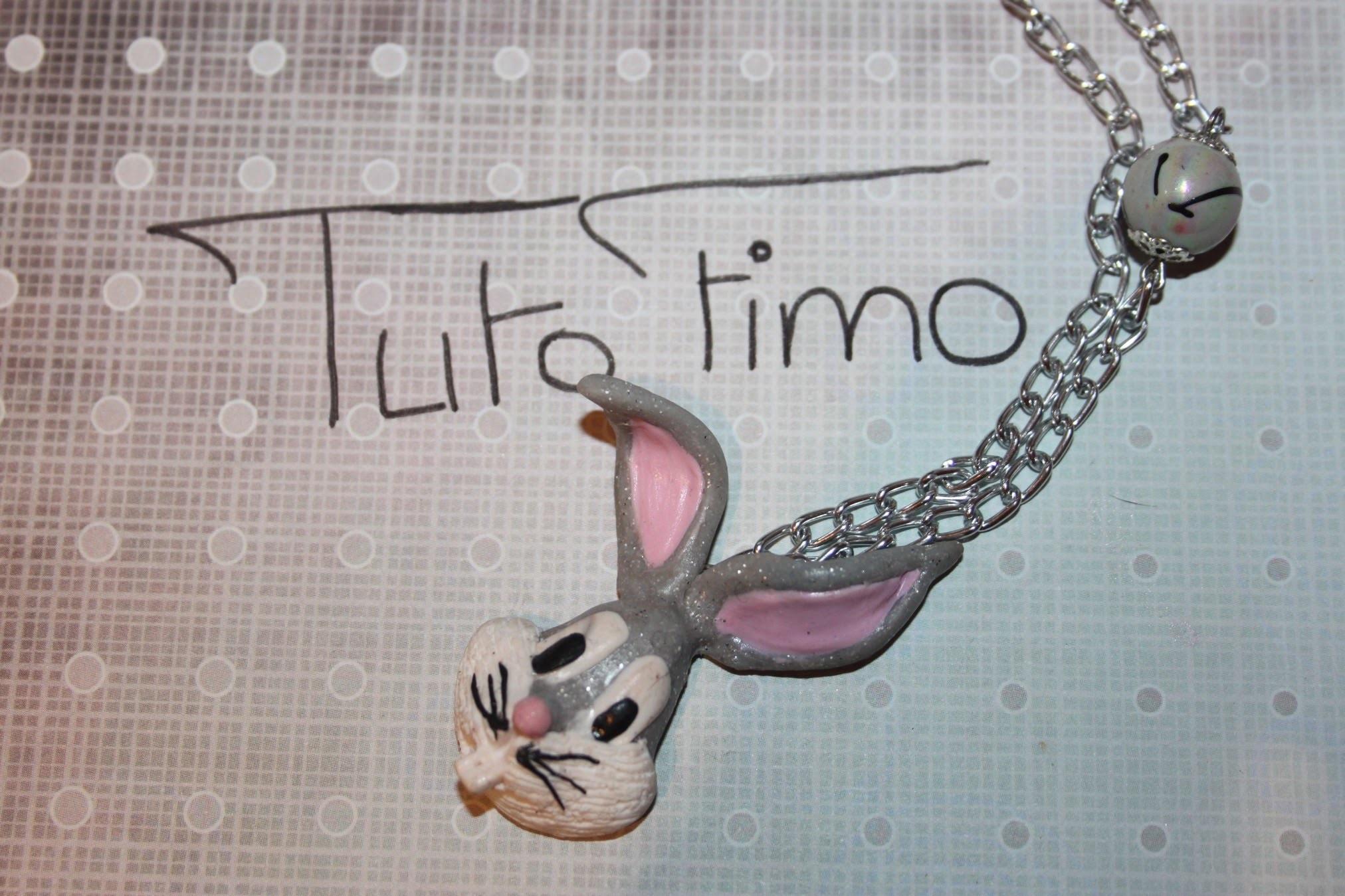 [♥✿ Tuto Fimo : Bugs Bunny ✿♥] ~ [♥✿ Polymer Clay Tutorial : Bugs Bunny✿♥]