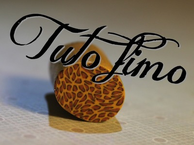 [♥✿ Tuto Fimo : Cane Léopard ✿♥] ~ [♥✿ Polymer Clay Tutorial : Cane Leopard ✿♥]
