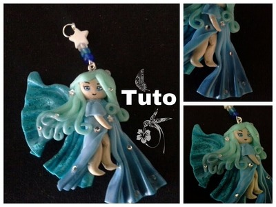 Tuto fimo chibi fée. polymer clay