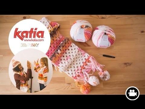 DIY Crochet Bufanda · Scarf · Écharpe Funky
