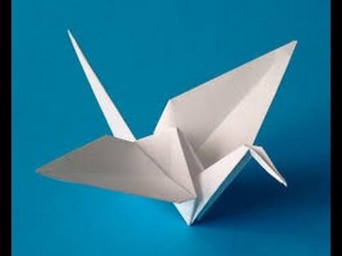 [TUTO] Origami Grue (Oiseau) Tutoriel FR