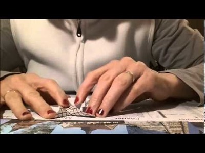 Tuto Robe origami