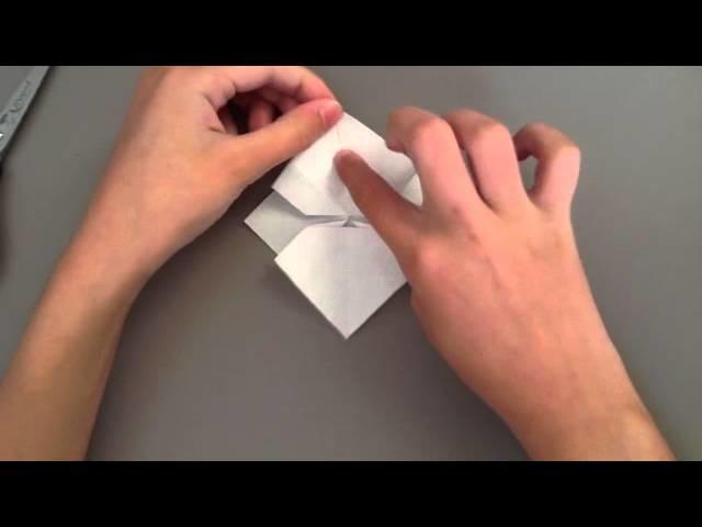 Faire un nœud papillon en origami - Idée d'origami originale