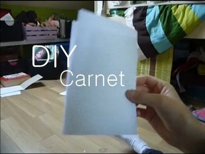 Fabriquer un carnet - Make a NoteBook !