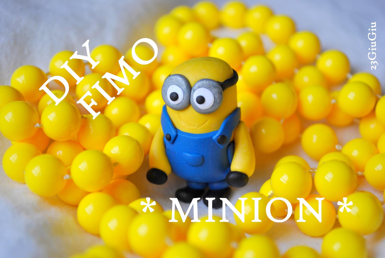 Tuto Fimo : Le minion !