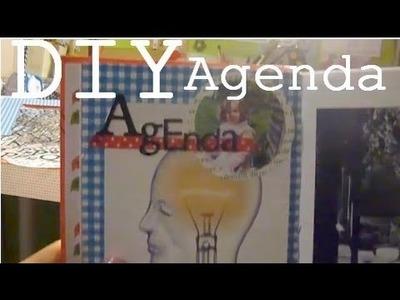 DIY - Customiser son agenda Intérieur & Extérieur.Relook your Diary !
