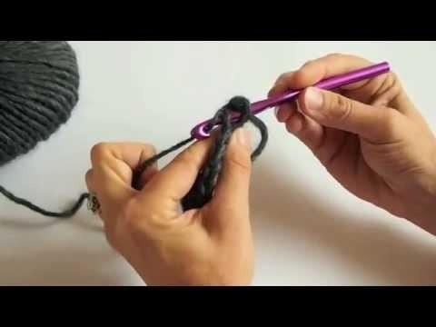 Crochet - Faire des demi-brides - Tutoriel