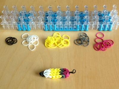 Créer un porte clefs Rainbow Loom