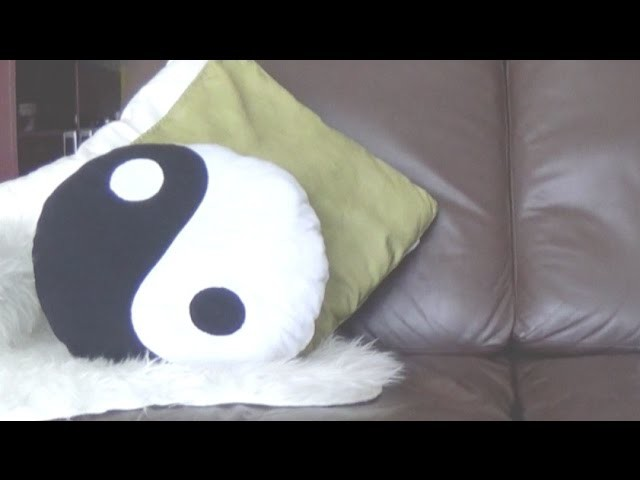 DIY│Coussin Yin Yang ☯ Alyssia