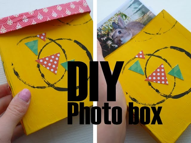 [DIY] Fabriquer sa propre Photo box. Polabox inspiration