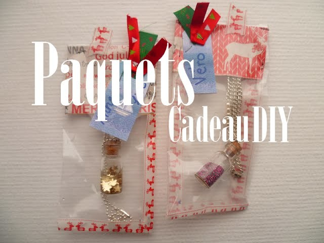 [DIY] Paquet cadeau original pour Noël. Christmas package gift