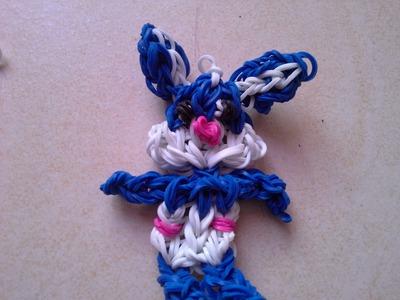 Faire un lapin en cra-z-loom ou rainbow loom HD