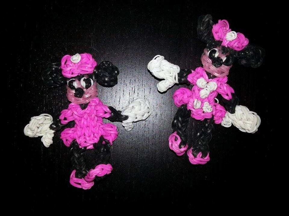 Minnie Mouse en Loom Tutoriel en Français