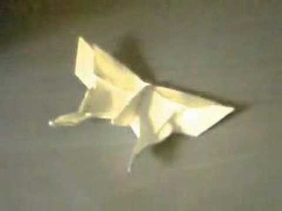 Origami butterfly hip hop