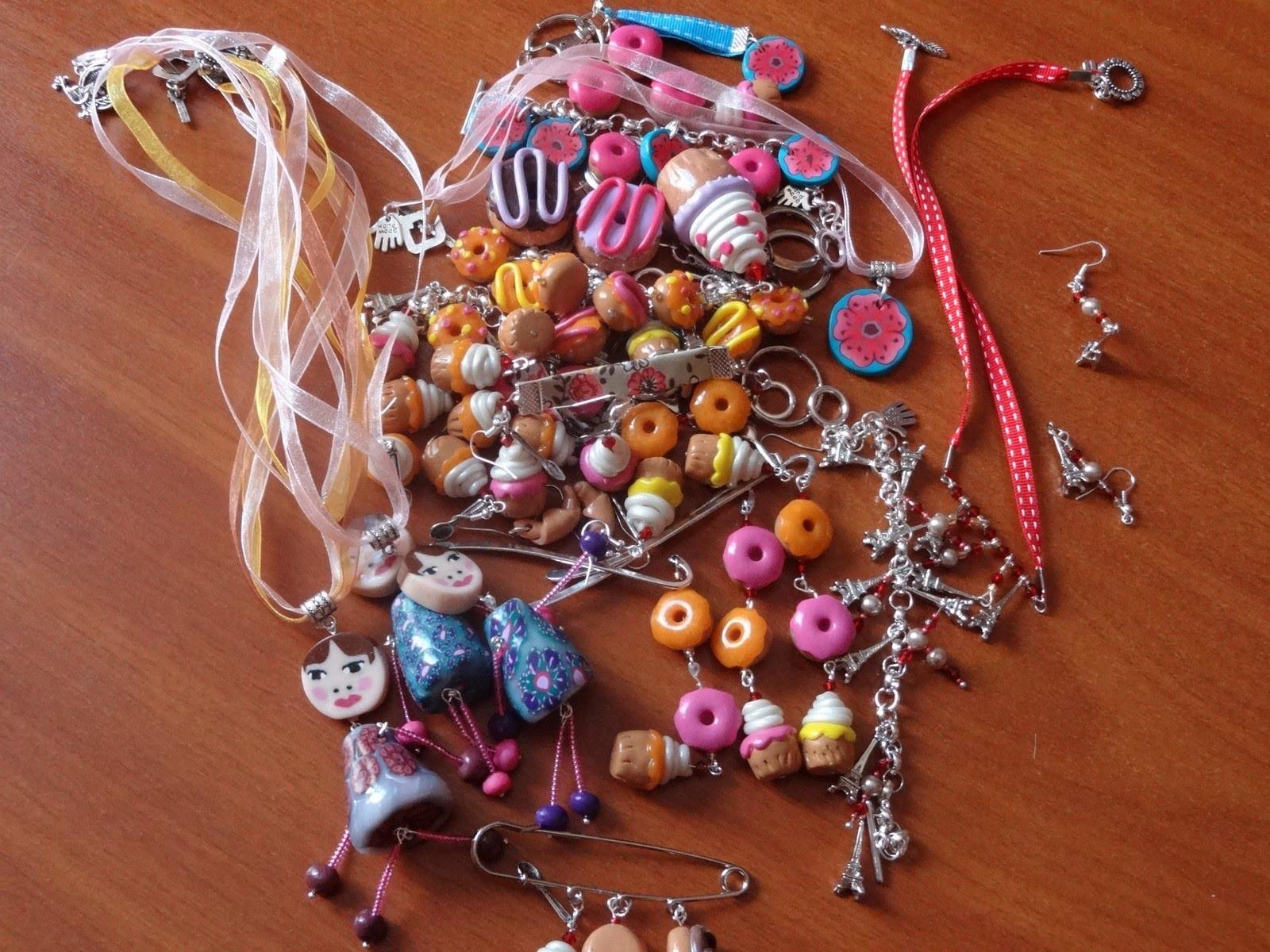 Petites choses en fimo (hand-made)