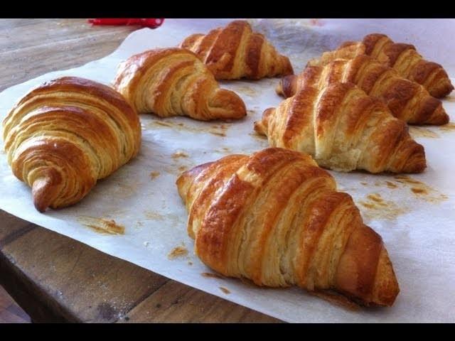 Recette de croissants français,Croissant come quelli del bar