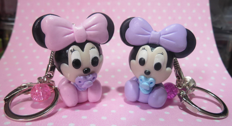 Tuto Fimo : bébé Minnie