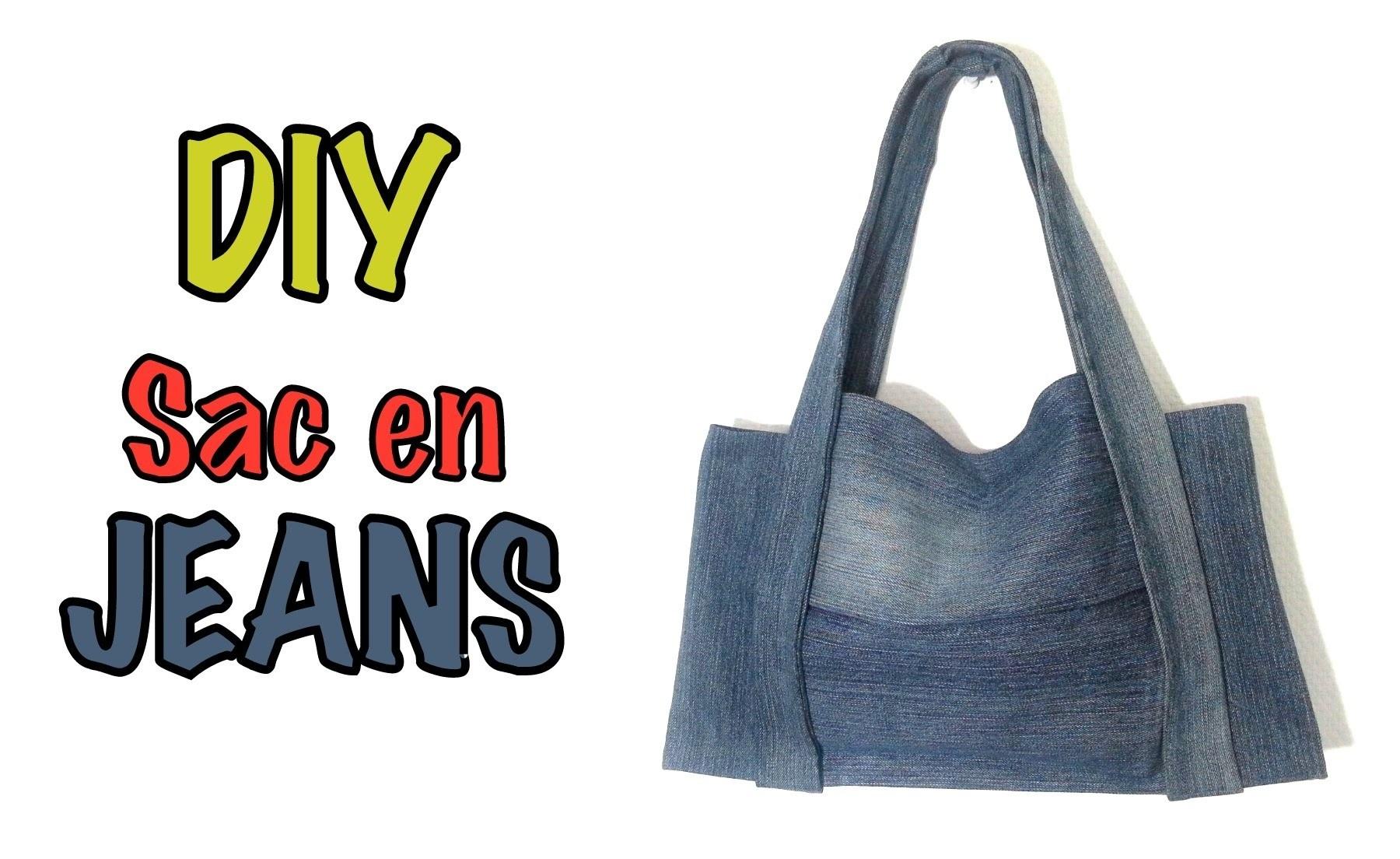 DIY Mode sac à main avec un vieux jeans