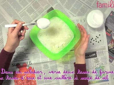 Fabriquer de la colle à papier mâché
