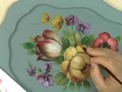 """Peinture Décorative : """"Le style Floral Français"""" par David Jansen"""