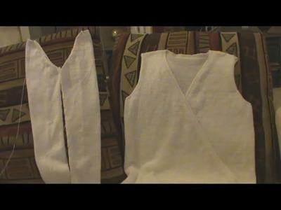[Tricot] Coudre une manche tricotée en rond