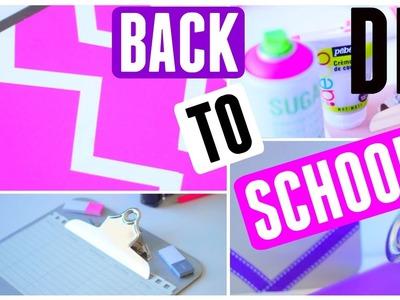 DIY français #6 - BACK TO SCHOOL 2015 - Fournitures scolaires