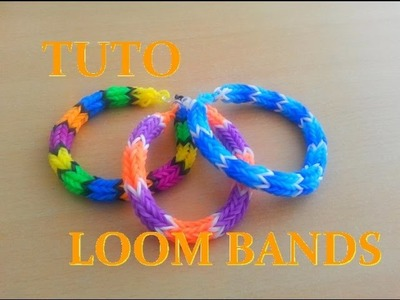 DIY : Loom Bands : Bracelet Rond (Français)