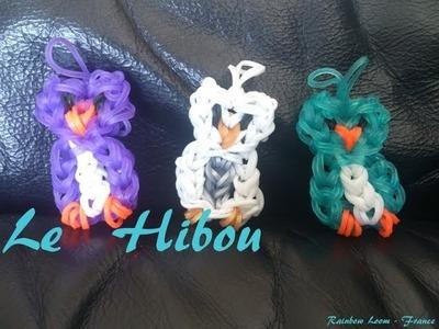 Le Hibou-Chouette Rainbow loom® Tutoriel Français (Niveau Intermédiaire)