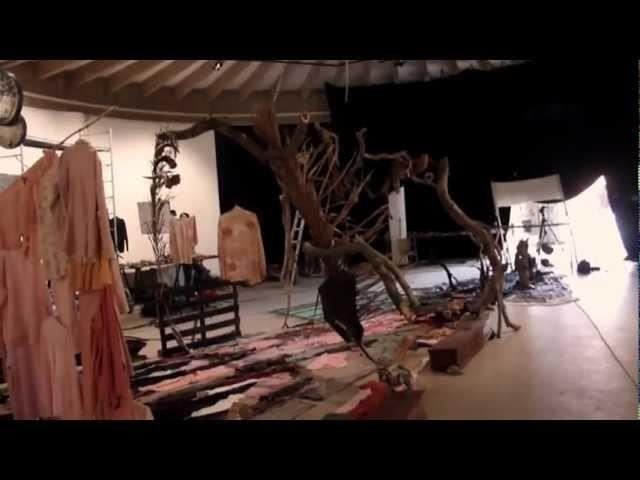 Making of de l'installation de Bernard Pras à l'Institut Français de Ouagadougou