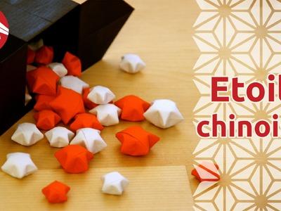 Origami - Etoiles chinoises du bonheur - Chinese Lucky Stars (HD) [Senbazuru]