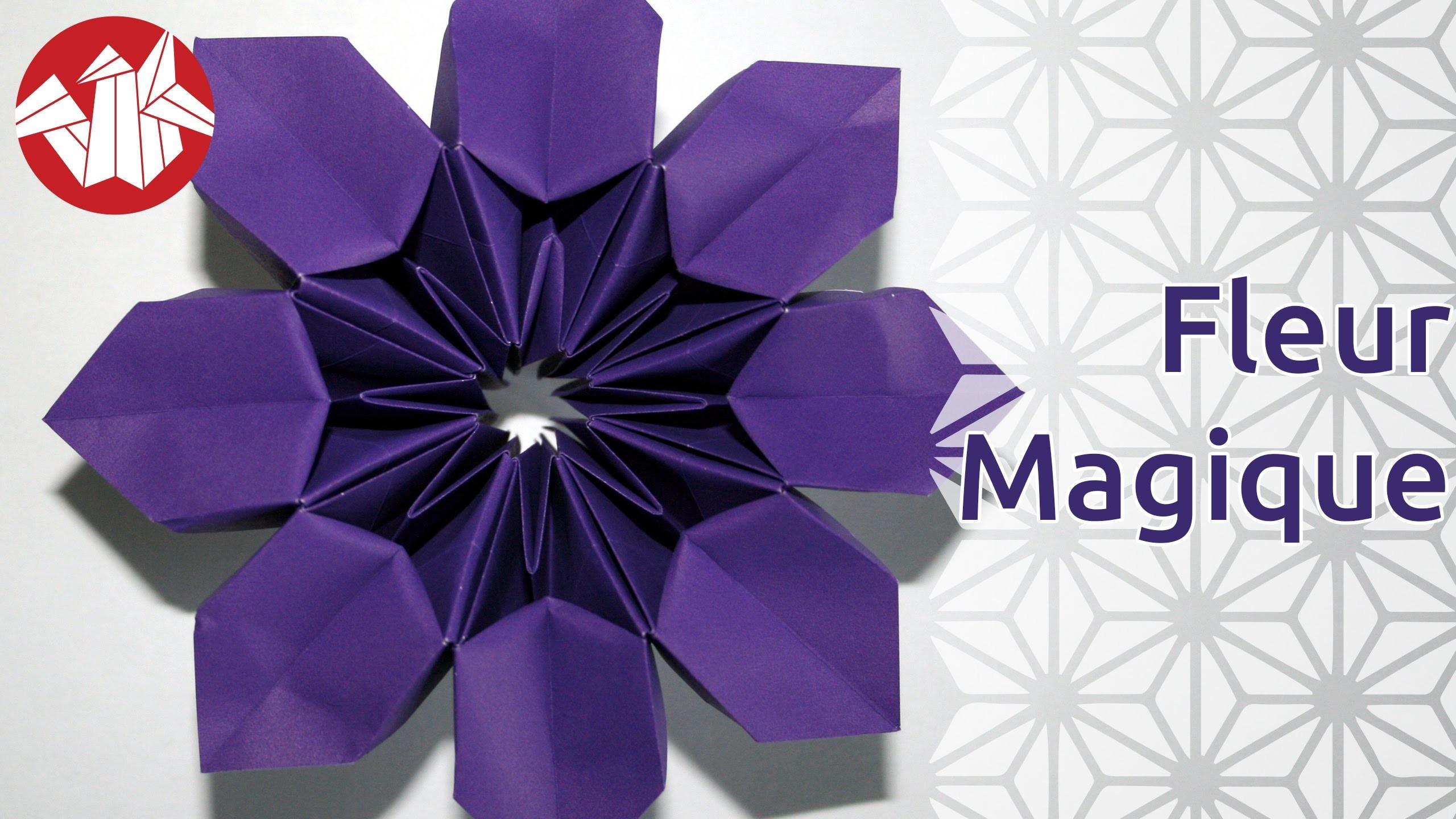 Origami - Fleur Magique - Magic Flower [Senbazuru]