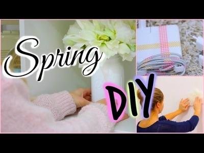 [ DIY n°5 ] : 4 Spring DIY ♡