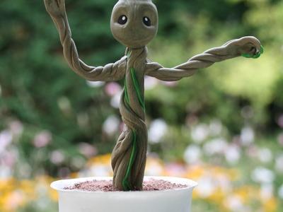 (TUTO) Bébé Groot en fimo (Les gardiens de la galaxie)