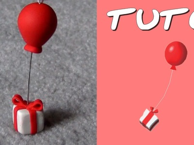 TUTO FIMO | Cadeau-Ballon (de Animal Crossing)