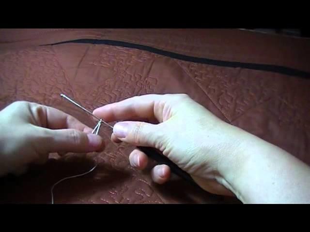 Comment faire de la frivolité au crochet?